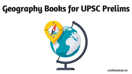 Geography books for UPSC Prelims